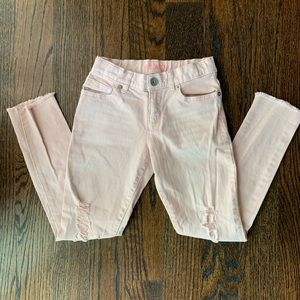 The Children's Place Distressed Girls Jeans. 6x/7